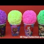 Playfoam Ice Cream Surprise Cups Iron Man Peppa Pig My Little Pony The Good Dinosaur TMNT Lego Toys