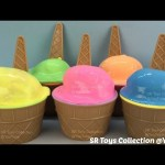Clay Slime Ice Cream Surprise Eggs Trolls Series 2 Blind Bag Winnie the Pooh Shopkins Frozen Toys