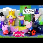 Can Peppa Pig Fly? Ben and Holly's Little Kingdom Thistle Castle and Play Doh Gaston Episodes