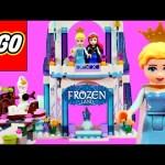 FROZEN ELSA'S Sparkling Ice Castle Lego Disney Princess Anna Juguete para Construir Princesa DCTC
