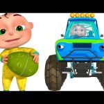 Five Little Babies Driving Transport Vehicles | Surprise Eggs Kids | Monster Truck Fire Truck