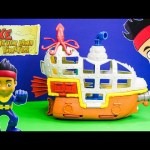JAKE AND THE NEVER LAND PIRATES Disney Jake Bucky Submarine Toys Video Unboxing