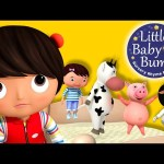 Five Little Baby Bum Friends Jumping On The Bed | Nursery Rhymes | Original Song By LittleBabyBum!