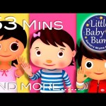 Ten Little Fingers | Plus Lots More Nursery Rhymes | 53 Minutes Compilation from LittleBabyBum!