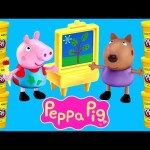 PEPPA PIG Play Doh Episodes ★ Peppapig Toy Videos 2015 Plastilina DCTC