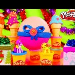Play Doh Surprise Ice Cream LaLaLoopsy Girls Toys + Egg Surprise MLP Disney Cars Toy Club DCTC