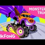 Monster Truck Team | Monster Trucks | Pinkfong Songs for Children
