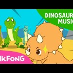 The Cool Horns of Triceratops | Dinosaur Musical | Pinkfong Songs for Children