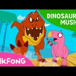 The Diary of T-Rex, the Hunter | Dinosaur Musical | Pinkfong Songs for Children