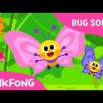Flitter-Flutter Butterflies   Bug Songs   Pinkfong Songs for Children