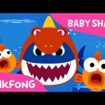 Baby Shark Wearing a Dinosaur Costume! | Animal Songs | PINKFONG Songs for Children