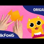 Three Little Kittens | Mother Goose With Origami | PINKFONG Origami | PINKFONG Songs for Children