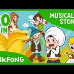 Ali Baba and the Forty Thieves | Fairy Tales | Musical | + Compilation | PINKFONG Story Time