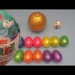 Finding Dory Kinder Surprise Egg Learn-A-Word! Spelling Food!  Lesson 31
