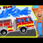 Videos For Children – Fire Truck Nursery Rhymes Playlist | by Blippi