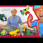 Toy Videos for Children with Blippi | Learn Numbers 30 Minutes