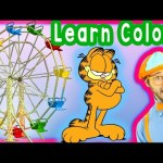 Learn Colors for Toddlers – Preschool Learning – Theme Park Tour with Blippi – Colors Collection