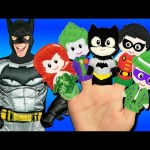 Batman Finger Family Song – Superheroes and Villains! Batman, Joker, Riddler, Catwoman
