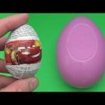 Disney Cars Surprise Egg Word Jumble! Spelling Flowers!  Lesson 2