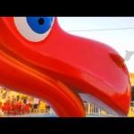 Playgrounds for kids. Video compilation from KIDS TOYS CHANNEL