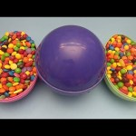Hidden Surprises in 3 HUGE GIANT JUMBO Surprise Eggs Filled with Candy! Part 21
