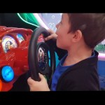 Indoor playground  for kids with games. Funny video 2018