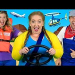 """""""Alphabet Transport"""" – ABC Transportation Song for Kids 