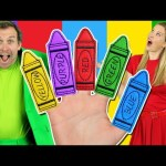 Colors Finger Family – Learn Colors with the Finger Family Nursery Rhyme   Baby Songs