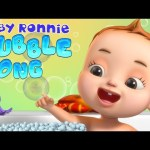 Bath Song – Bubble Song | Baby Ronnie Rhymes | Kids Learning Songs | Videos For Toddlers | 3D Rhymes
