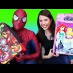 Disney Princess & Superhero Avengers Surprise Luggage Suitcases Kids Toys