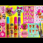 LOL Surprise Confetti Pop Stationary Set