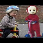 Teletubbies :  First Ever Episode: Ned's Bicycle #Teletubbies20