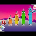 Numberblocks – Learn to Count | The Life of a Numberblock | Wizz | Cartoons for Kids