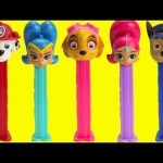 Shimmer and Shine Paw Patrol Pez Candy Dispensers