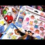 Tsum Tsum Aquabeads Squishy Surprise Disney Princess Toy Story Frozen toys review