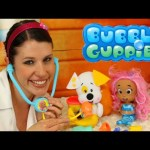 Bubble Guppies Check-Up Kit Puppy Veterinarian Playset with Sandra Kids Toys