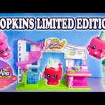 Cupcake Queen Limited Edition Frozen Shopkins YouTube Video
