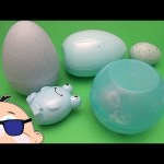 Learn to Spell with Rockin' Baby Big Mouth Surprise Eggs!  Fairy Tale Animals!  Lesson 5