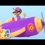 10 Little Airplanes   Kids Songs   Count To Ten   Super Simple Songs