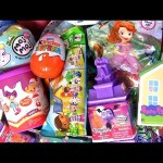 Kinder egg Peppa Pig surprise Doc Mcstuffins Lalaloopsy dolls Moj Moj