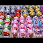 Kinder eggs Surprise Chocolate eggs toy surprises chupa chups