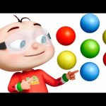 Five Little Babies Painting a Wall | Learn Colors For Toddlers | Videogyan 3D Rhymes & Kids Songs