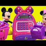 Minnie Mouse Electronic BowTique Cash Register Helps Mickey Mouse Shop Kids Toys
