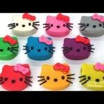 Learn Colours Play Doh Hello Kitty Fun For Kids