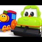 Learning Colors with Street Vehicles | Fun For Kids | Bob Fun Series | Kids TV