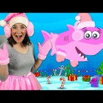 Christmas Baby Shark | Kids Songs & Nursery Rhymes | Christmas Sharks Song for Kids