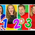 """""""Counting to 10"""" in Four MORE Languages! Kids Learn to Count – Numbers Song"""