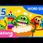 Foods and more | Word Songs | Learn Words | +Compilation | Pinkfong Songs for Children