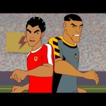 Supa Strikas Full Episode Compilation | Shakes On a Train | Soccer Cartoons for Kids