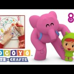 Pocoyo Arts & Crafts: Roulette of the professions- Women's Day 🚺